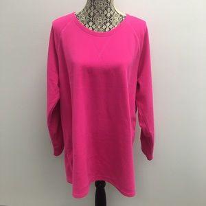 Pink Fleece Top